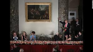 inaugural luncheon head table trump s inauguration how d he do opinion cnn