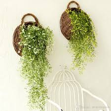 Artificial Plant Decoration Home Artificial Plants Wall Pastoral Home Decorations Creative