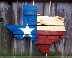 Texas Flag Chile Flag Recycled Pallet Texas State Flag