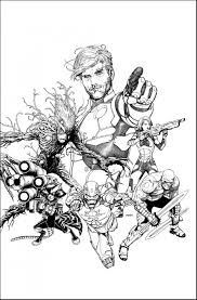 guardians galaxy superheroes coloring pages