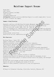 mainframe programmer resume senior programmer resume samples
