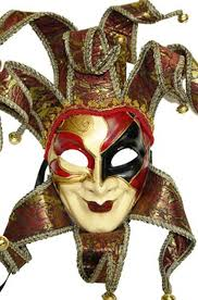 jester masquerade mask royal court jester mask costumes clown mask