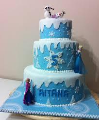 tarta de frozen pasteles de elna