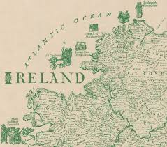 Map Ireland This Brilliantly Detailed Map Of Ireland Lists Over 700