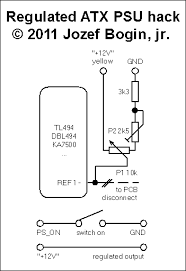 Pc Power Supply Bench Fully Regulated Atx Power Supply Jozef Bogin Jr