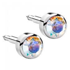 ear piercing studs birthstones stainles steel ear piercing studs