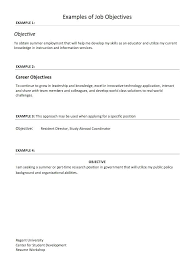nursing career objective exles sle career objective in resume career objective sle resume