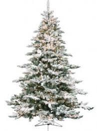 artificial trees deluxe flocked arctic 9