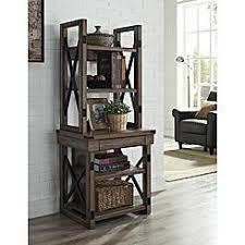 Curio Cabinets Kmart Gray Game Room U0026 Media Furniture Mdf Kmart