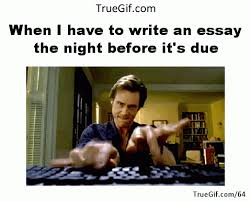 Memes About Writing Papers - when i have to write an essay the night before it s due