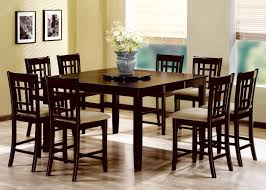 Cappuccino Dining Room Furniture Geneva Cappuccino Wood Pub Table Set Steal A Sofa Furniture