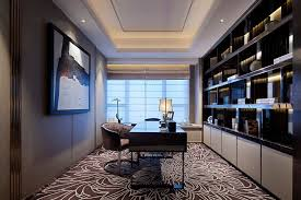Office  Terrific Luxury Home Office Design Ideas With Fancy - Modern home office design