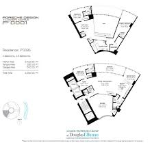 porsche design tower miami floor plans luxury oceanfront condos