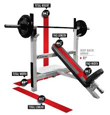Weight Bench With Spotter Basic Olympic Incline Bench Press Legend Fitness 3106