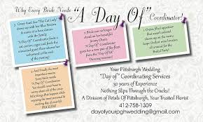 day of wedding coordinator wedding coordination