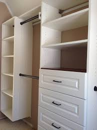decorations narrow attic closet in white color cabinet ideas