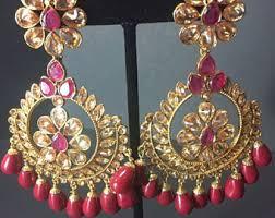 gujarati earrings etsy