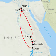 Egypt On Map Egypt Tours Holidays To Egypt On The Go Tours