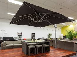 Black And White Patio Furniture Furniture Charming Cantilever Patio Umbrella For Patio Furniture