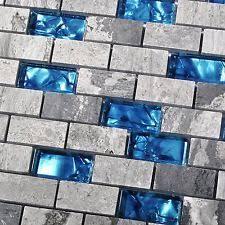 blue glass kitchen backsplash blue glass nature tile kitchen backsplash 3d bath