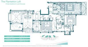 Plantation Floor Plans by Penthouse Suites In The Caribbean