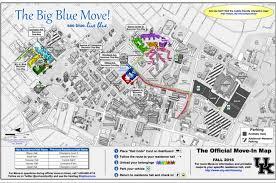 uky map big blue move to impact traffic uknow