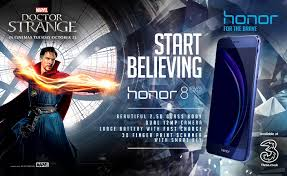 buying an honor 8 in uk will get you 2 tickets to doctor strange