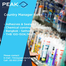 Advertising Sales Manager Country Sales Manager U2013 Adhesives U0026 Sealants Construction