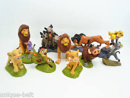 lion king cake toppers set of 9 pcs the lion king cake topper figures