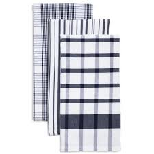 sur la table kitchen towels assorted twill kitchen towels 28 x 20 set of 3 sur la table