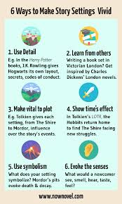 sample of descriptive essay about a place 6 setting examples effective story settings now novel infographic story setting examples now novel