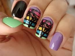 9 best palm tree nail designs styles at