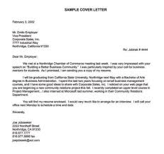 what a cover letter should look like