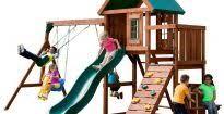 Weston Backyard Discovery Backyard Discovery Prestige All Cedar Wood Playset Pics On