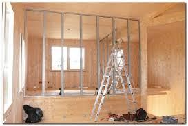 isolation phonique entre 2 chambres cloisons de notre chambre et sdb le de la calougeotte