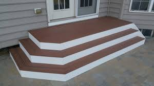 deck steps american exteriors u0026 masonry