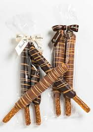 Wholesale Pretzel Rods Spring Chocolate Covered Caramel Pretzel Rods Sweet Jubilee Gourmet