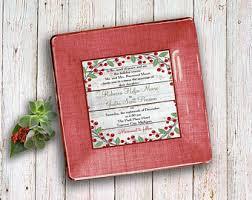 wedding invitation plate keepsake wedding invitation keepsake unique wedding gift idea for
