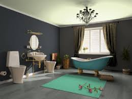 ideas for painting a bathroom blue and grey bathroom color scheme