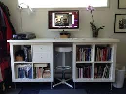 Expedit Ikea Bookcase Bookcase Ikea Kallax To Diy Standing Desk Ikea Bookcase Desk