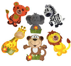 amazon com safari jungle zoo large animals 8