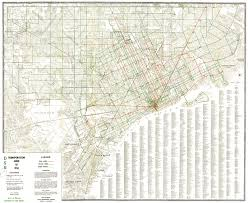 Map Of Redmond Oregon by Detroit Transit History Info 1950 Dsr Route Map