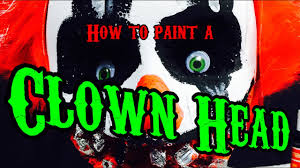 how to make a diy clown head halloween decor youtube