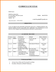 Best Resume Format For Engineers Pdf by Resume Format For Mba Freshers Pdf Resume For Your Job Application