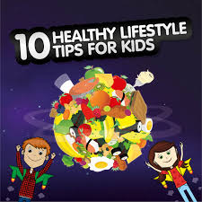 10 healthy lifestyle tips for kids eufic