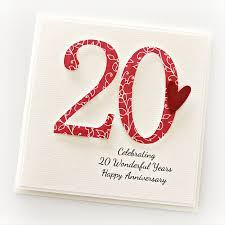 20th wedding anniversary ideas what is the 20th wedding anniversary gift ideas bethmaru