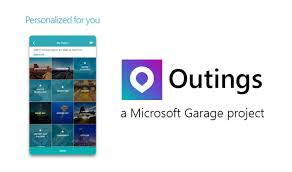 microsoft android apps outings by microsoft garage is a beautiful personalized travel