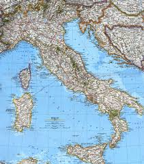 Italian Map Italy Sightseeing Your Travel Guide To Italy Things To Do
