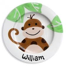 personalized ceramic plate personalized painted ceramic children s plate