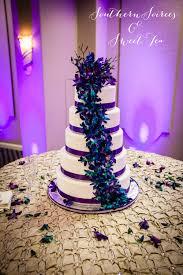 bling wedding programs purple teal wedding 04 20 13 southern soirees and sweet tea